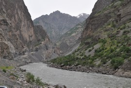 Panj river (left Tajikistan, right Afghanistan)