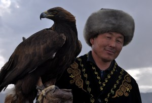 Eagle Man in Kyrgyzstan