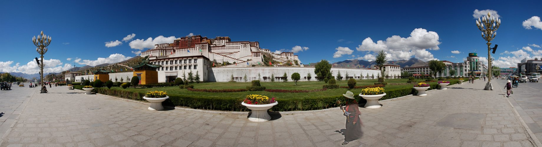 China, Tibet, Lhasa, 3650m, Potala Palace